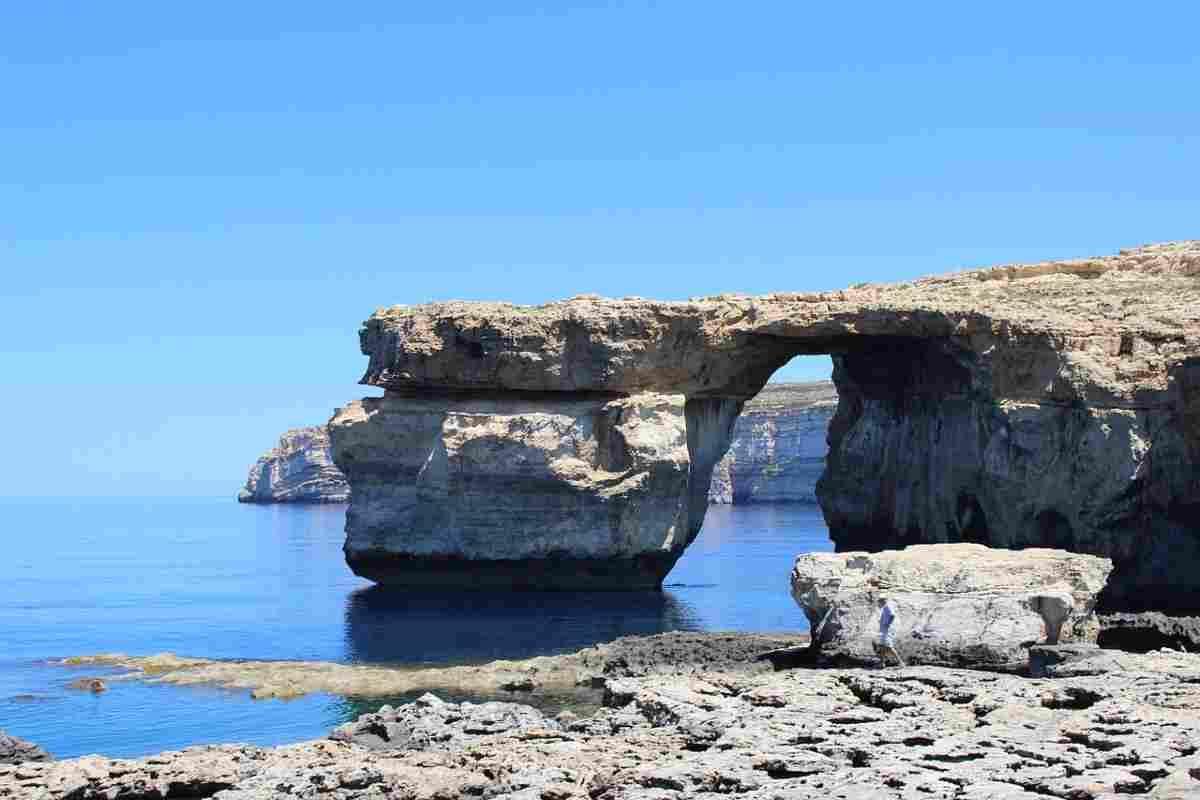 Malta Gozo boog